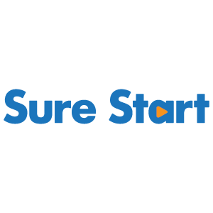 EDA media, Sure Start, logos, clients