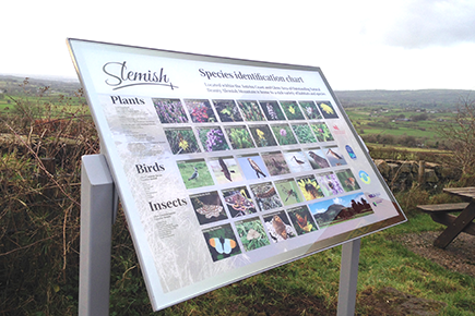 Slemish Guide & Interpretive Panel